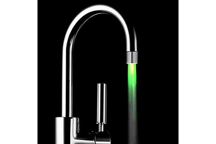 LED vandhanehoved med temperaturskiftene lys2
