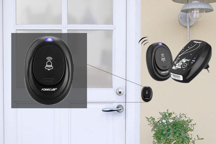 Er du i tvivl om det bankede på døren? Med en trådløs dørklokke kan du altid høre gæsterne!1