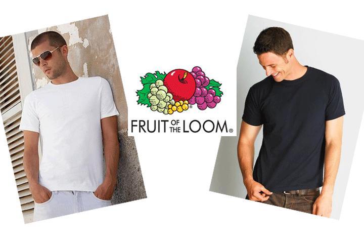 Fyld garderoben med 6 stk. kvalitets T-shirts fra Fruit of the Loom1