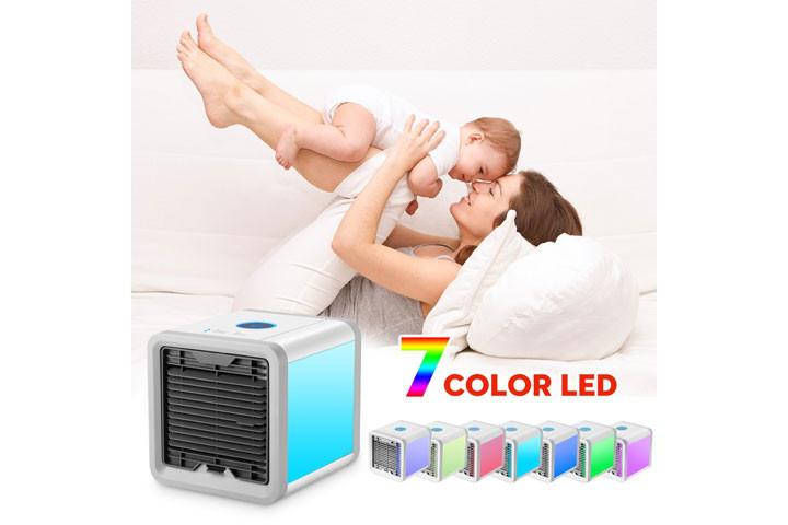 Mini Air Cooler, der køler luften ved hjælp af vanddamp2