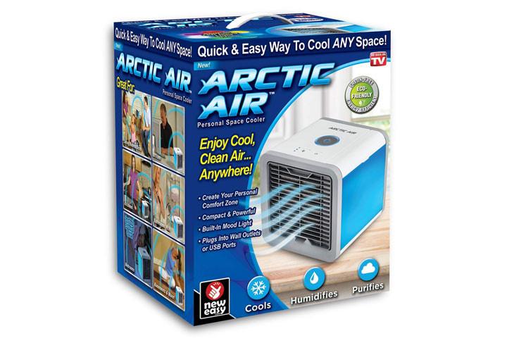 Mini Air Cooler, der køler luften ved hjælp af vanddamp9
