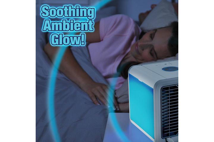 Mini Air Cooler, der køler luften ved hjælp af vanddamp3