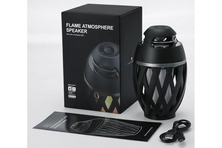 Bluetooth højtaler med flamme-effekter5