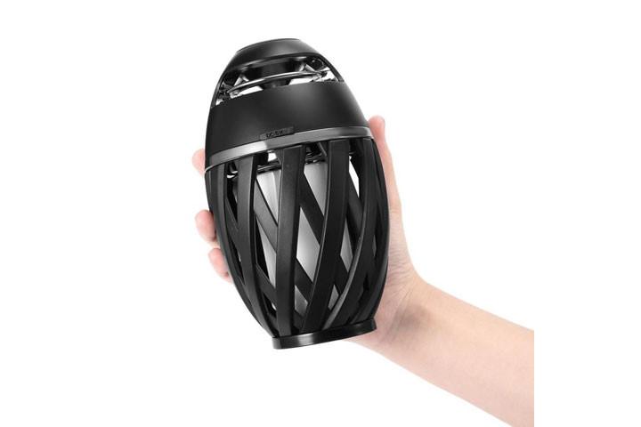 Bluetooth højtaler med flamme-effekter2