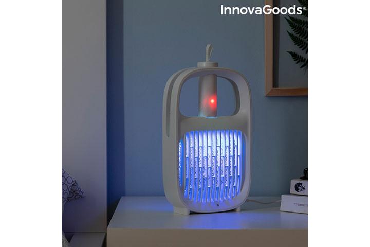 Den myggeafvisende lampe har også en insektdræbende funktion3