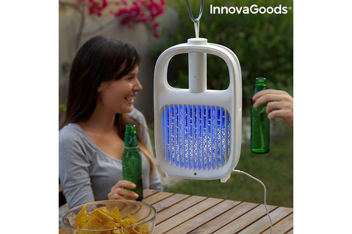 Den myggeafvisende lampe har også en insektdræbende funktion1