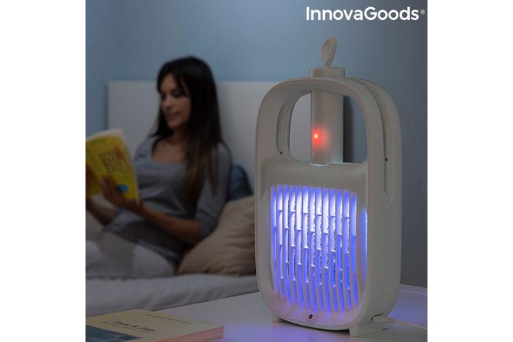 Den myggeafvisende lampe har også en insektdræbende funktion2
