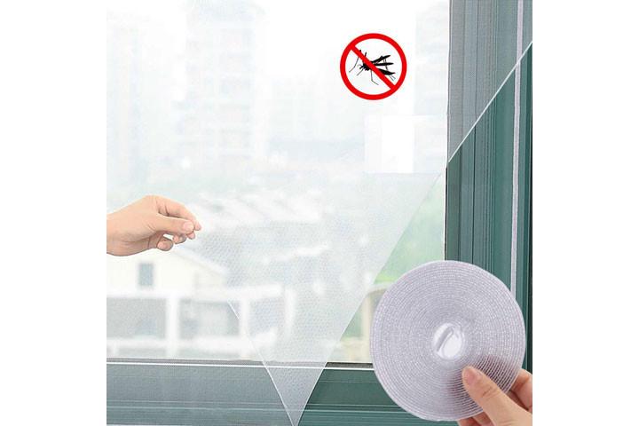 2 stk. myggenet til vinduerne der nemt påføres med det medfølgende velcrobånd1