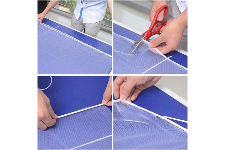 2 stk. myggenet til vinduerne der nemt påføres med det medfølgende velcrobånd2