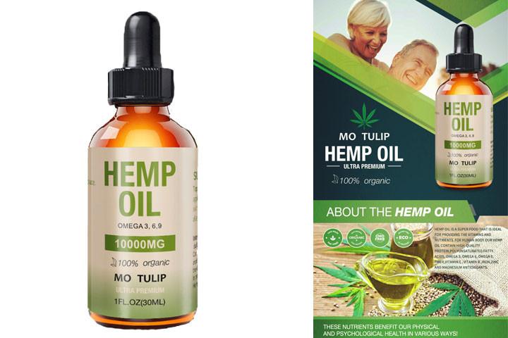 CBD olie (cannabisolie) 8% bla. mod smerter angst og depression1