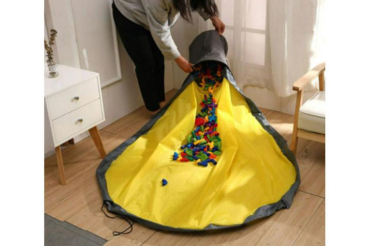 Pak nemt legetøjet væk når børnene er færdige med at lege2