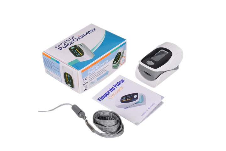 Hold styr på helbredet med et Pulsixometer, der måler din iltmætning og puls2
