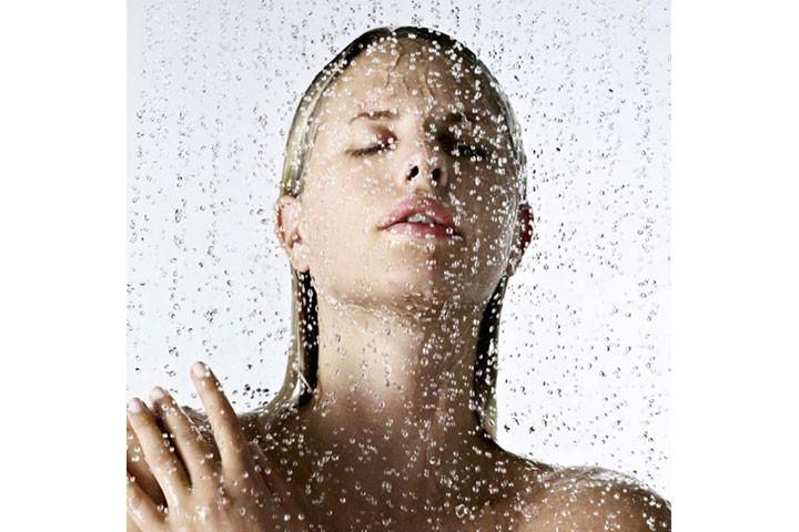 Lækkert brusehoved med regnskovseffekt4