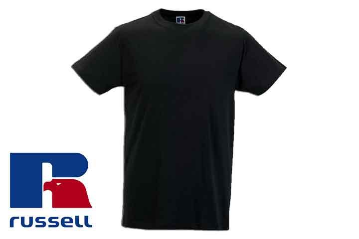 Herre t-shirts fra Russell - vælg mellem 5 eller 10 stk.6