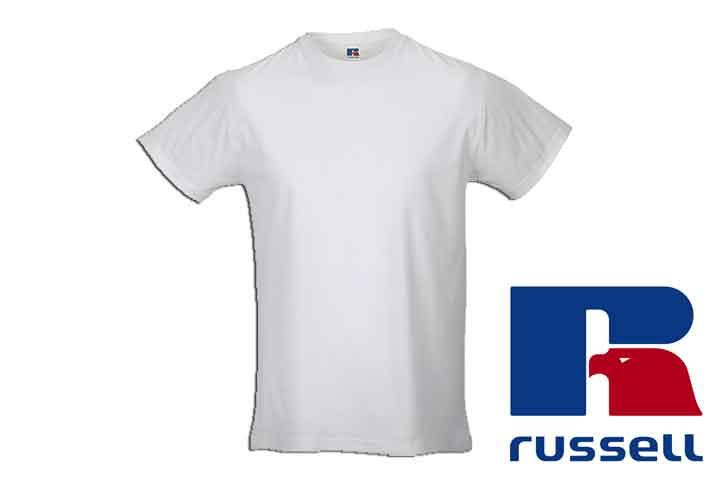Herre t-shirts fra Russell - vælg mellem 5 eller 10 stk.9