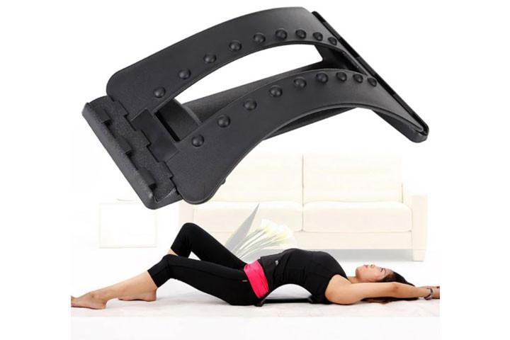 Rygstrækkeren giver en let og effektivt udstrækning af ryg og lænd1