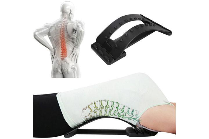 Rygstrækkeren giver en let og effektivt udstrækning af ryg og lænd4