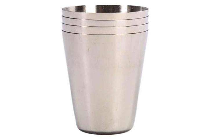 8 stk. Rustfrie shot glas og etui i imiteret læder klar til at sætte gang i festen4