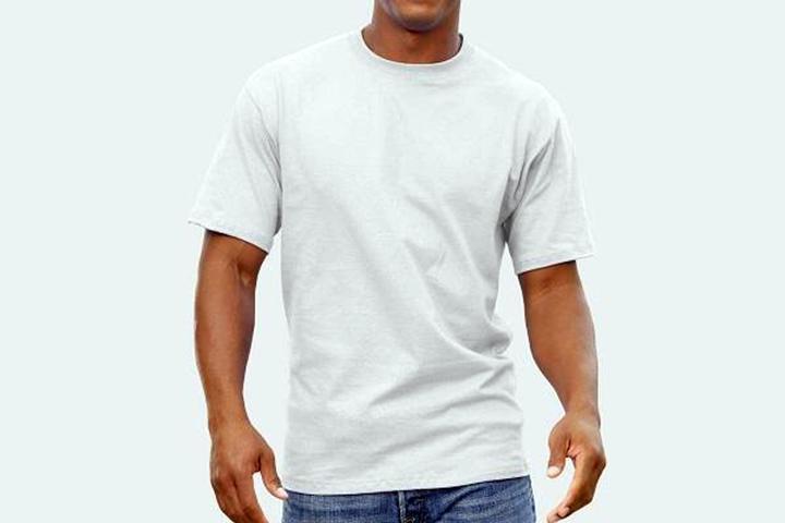 Fyld garderoben med 6 stk. kvalitets T-shirts fra Fruit of the Loom4