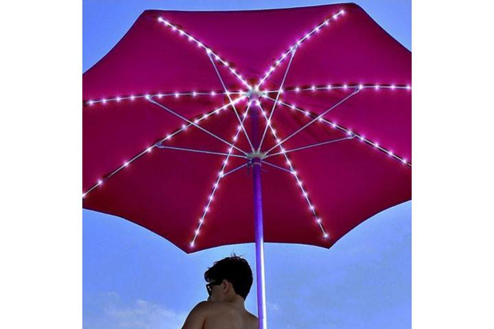 Lyskæden oplades på solens varme stråler og er rigtig god til udendørs brug6