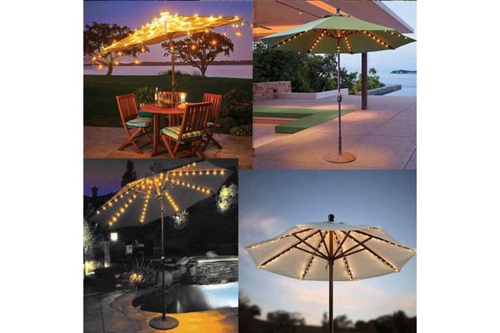 Lyskæden oplades på solens varme stråler og er rigtig god til udendørs brug1
