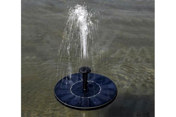 Solcelle springvand, som pynter og giver hygge3