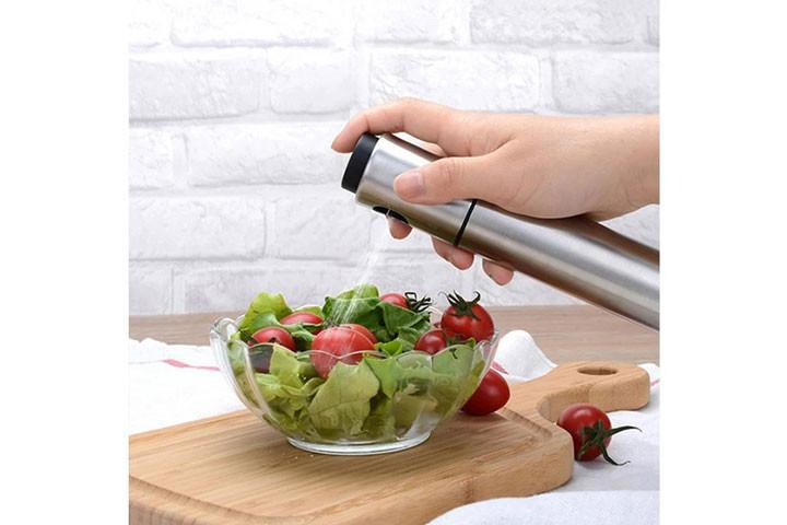 Sprayflaske i rustfrit stål, der gør madlavning og grill endnu sjovere4