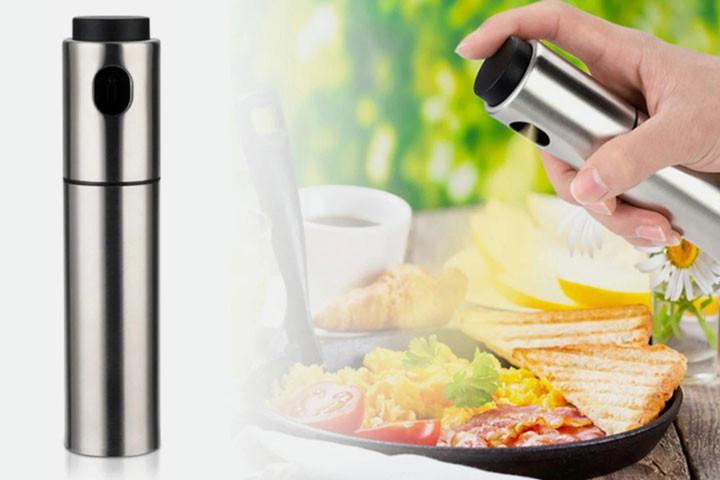 Sprayflaske i rustfrit stål, der gør madlavning og grill endnu sjovere1