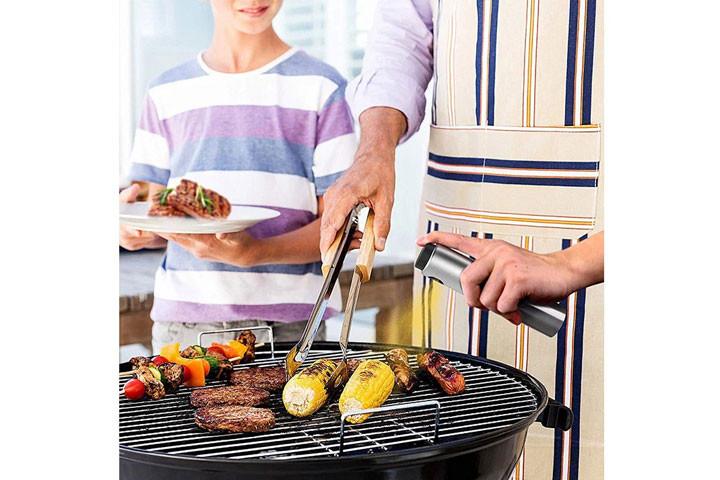 Sprayflaske i rustfrit stål, der gør madlavning og grill endnu sjovere2