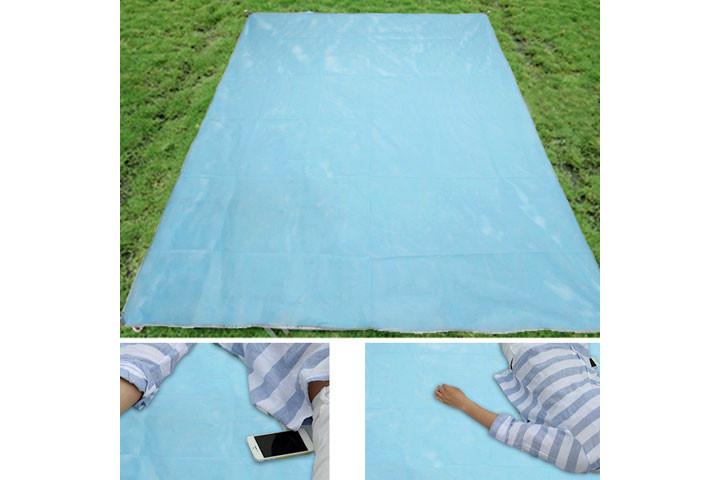 Sandfrit - Strandtæppe med dual layer mesh teknologi 5