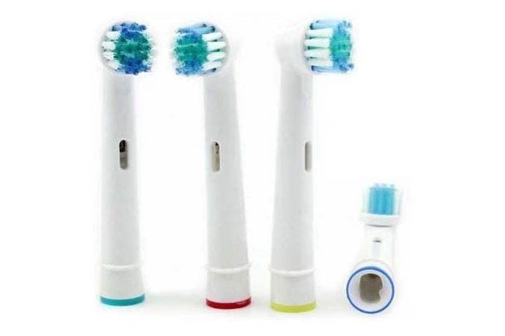 8 stk. tandbørstehoveder der er kompatible med langt de fleste el-tandbørster på markedet5