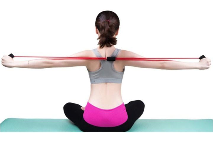 Træningselastikkerne har smarte håndtag, der udfordrer og styrker hele din krop.6