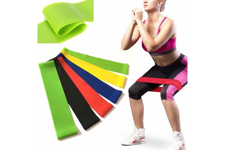 Bliv stærkere og kom nemt i god form derhjemme med disse træningselastikker2
