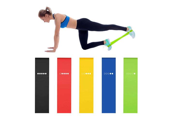 Bliv stærkere og kom nemt i god form derhjemme med disse træningselastikker4