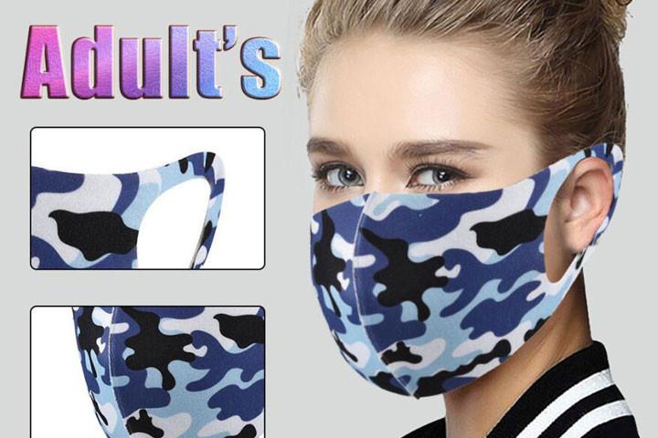 10 stk. Effektive og smarte mundbind, der er vaskbare og kan genbruges1