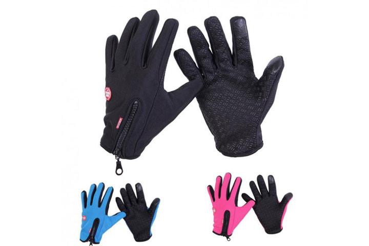 Smarte vind- og vandtætte handsker med touch og anti-skred, så du nemt kan holde ting i hånden3