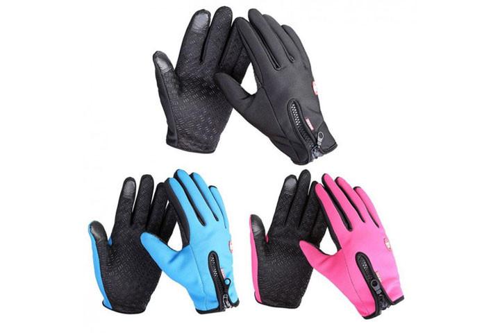 Smarte vind- og vandtætte handsker med touch og anti-skred, så du nemt kan holde ting i hånden5