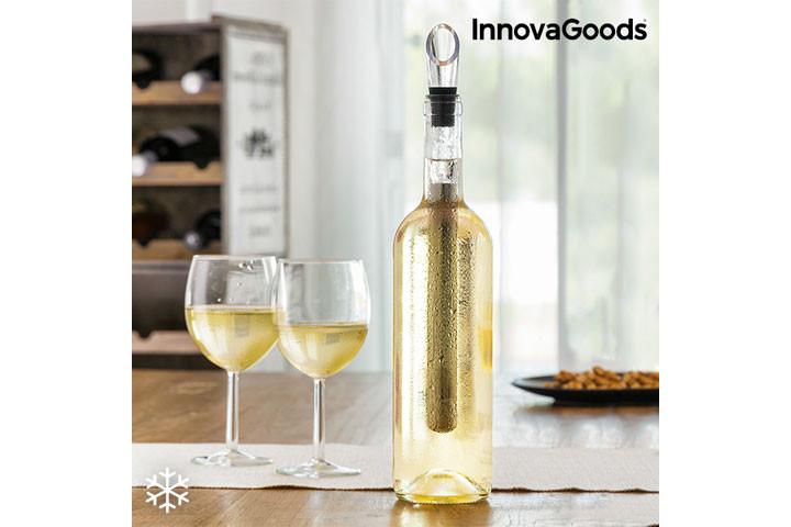 Slip for at sætte vinen i køleskabet, vinkølerem holder din vin kølig inde i flasken 3