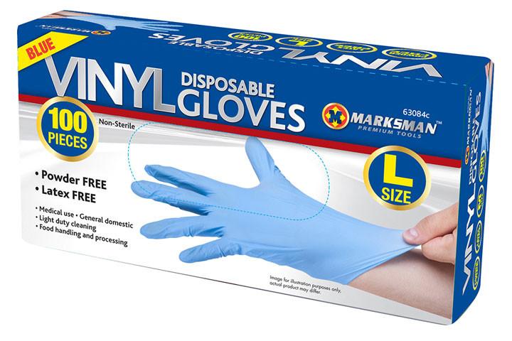 Oplev en optimal hygiejne med disse nye vinyl handsker, der er ekstra slidstærke1