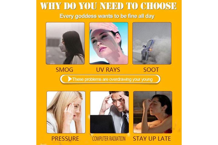 Reducere rynker og giv mere glans med C-vitamin serum med det populære hyaluronsyre4