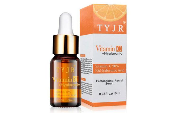 Reducere rynker og giv mere glans med C-vitamin serum med det populære hyaluronsyre7