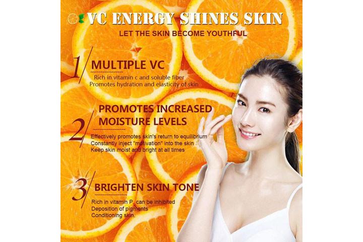Reducere rynker og giv mere glans med C-vitamin serum med det populære hyaluronsyre5