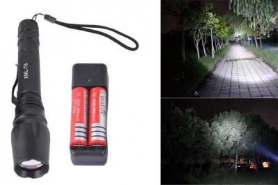 Kraftig CREE LED lommelygte