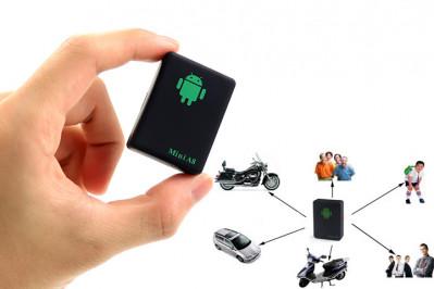 GPS tracker der kan trackes via en app til smartphone