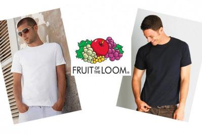 6 stk. T-shirts fra Fruit of the Loom