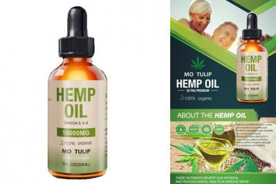 CBD olie (cannabisolie) 8% bla. mod smerter angst og depression