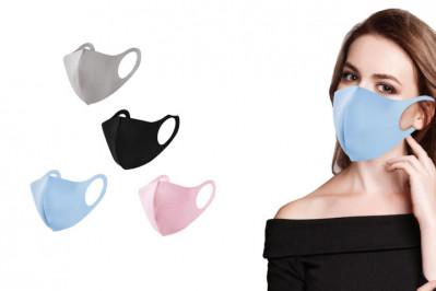 Smarte mundbind i 4 forskellige farver der kan vaskes og genbruges