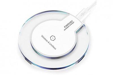 Trådløs oplader til smartphone og tablet - understøtter Samsung, Nokia, HTC, LG, Sony, MOTO, Apple og Mi