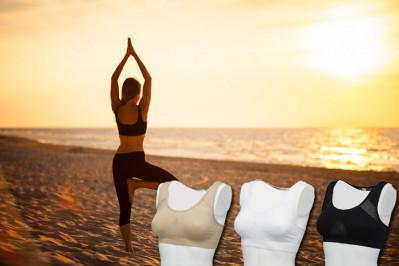 Yoga og sports bh - pakke med 5 stk.