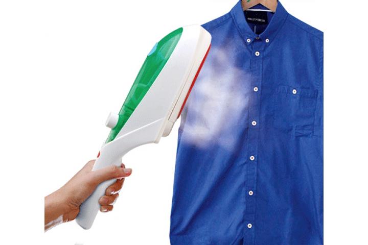 Image of   Smart håndholdt strygejern, der effektivt glatter dit tøj ved hjælp af damp